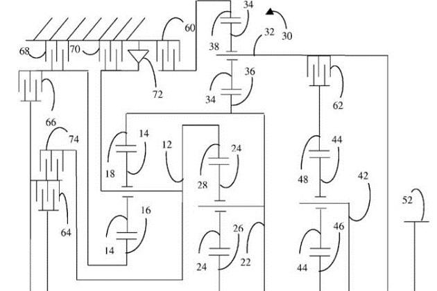 【レポート】フォードが11速トランスミッションの特許を申請