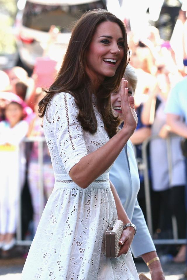 Kate Middleton in Zimmerman dress