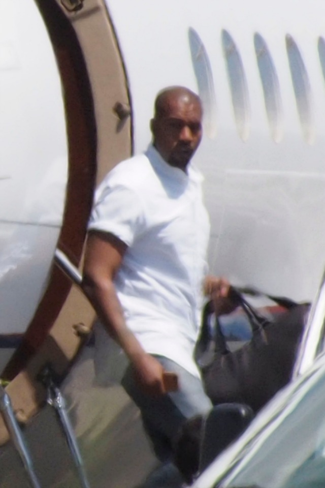 Kanye West in Florence