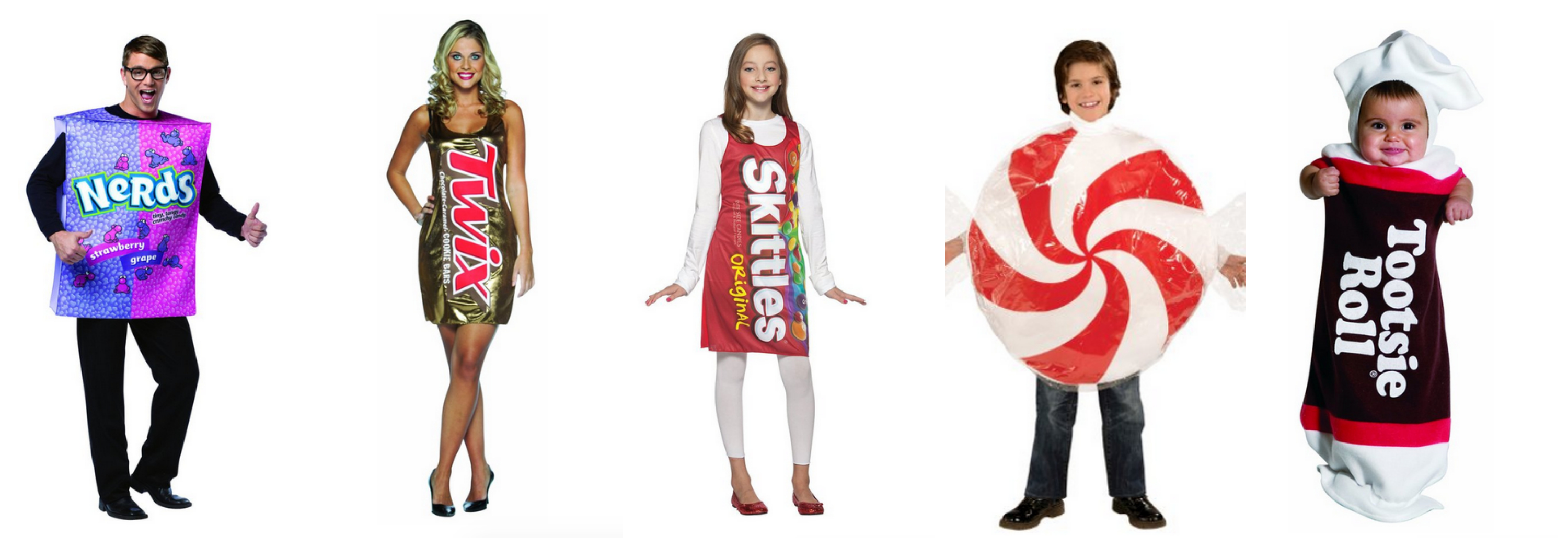 Candy Family Halloween Costume Idea