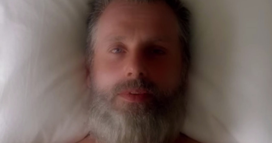 THE WALKING DEAD Season 8 old man Rick