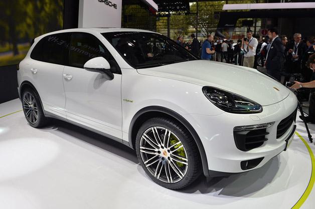 Porsche cayenne s e hybrid paris