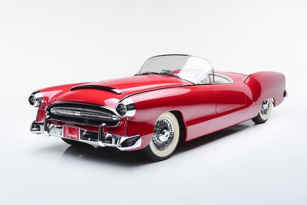 美しい1950年代のコンセプトカーを手に入れるチャンス! 実走可能な「プリムス・ベルモント」がオークションに出品