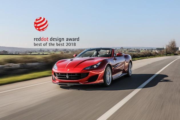 フェラーリが「レッド・ドット:ベスト・オブ・ザ・ベスト」デザイン賞を4年連続で受賞