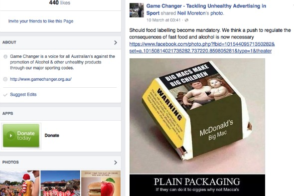 Mocked up plain packaging on burger box