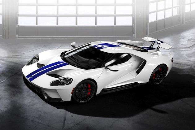 Autoblog記者たちが、新型フォード「GT」を自分好みにコンフィギュレーターでカスタマイズ
