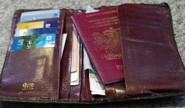 British tourist's missing wallet and passport found 18 years later