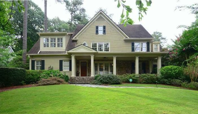 nancy grace home exterior atlanta