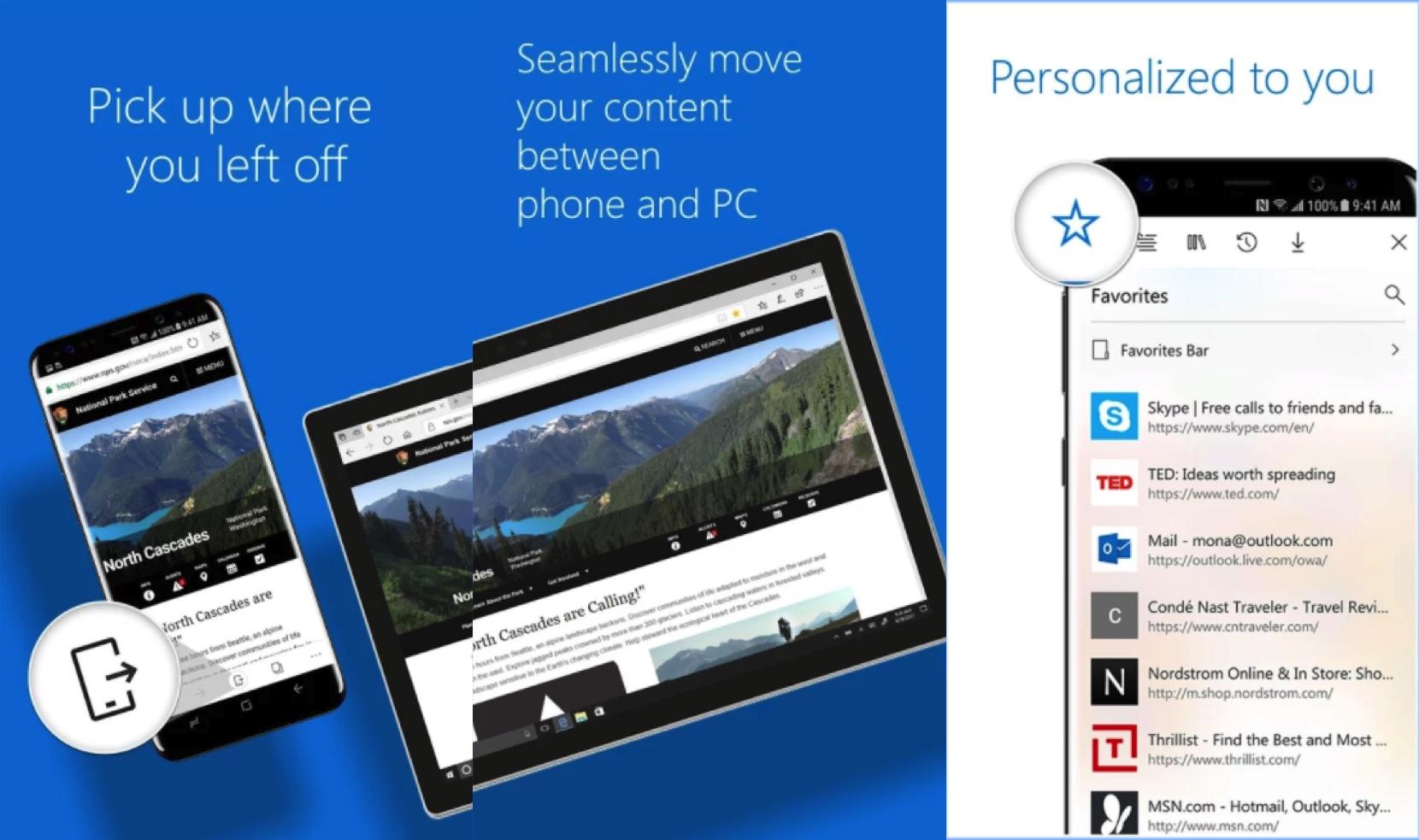 iPhone 與 Android 版的 Microsoft Edge 終於可以下載了