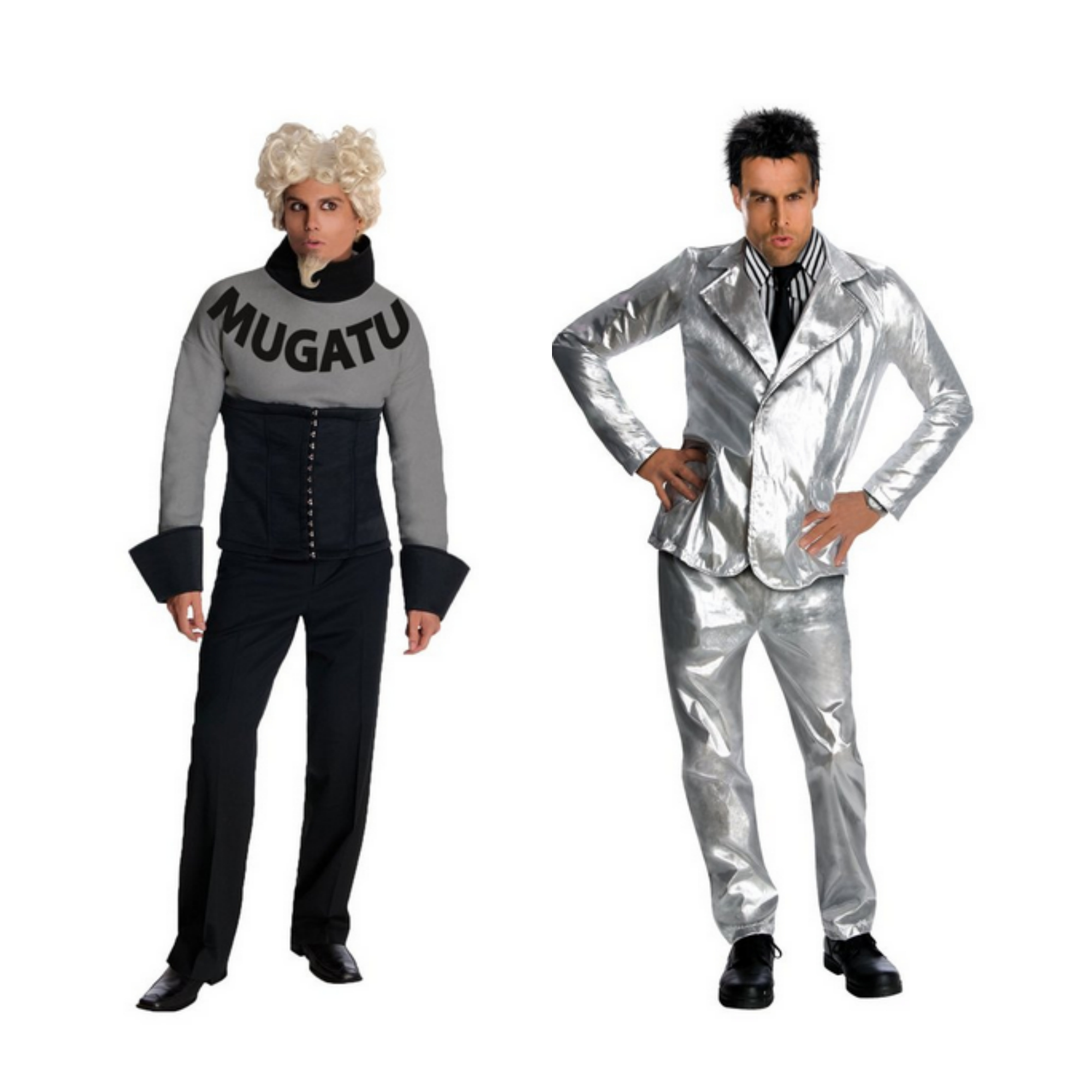 Derek Zoolander and Mugatu costume Halloween