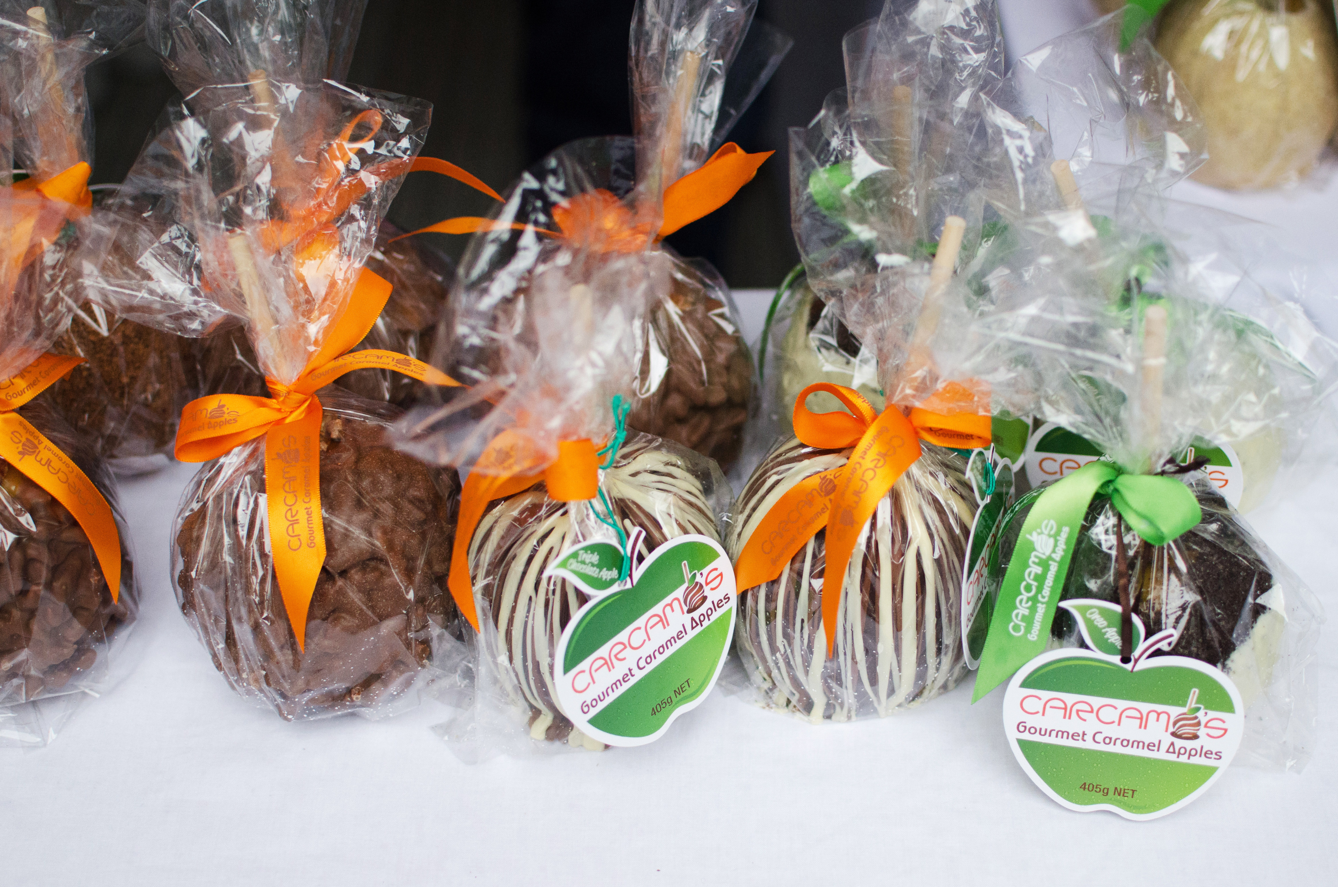 These caramel apples are like nothing you've ever tasted