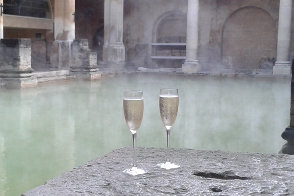Roman Baths and Pump Room/National Champagne Week