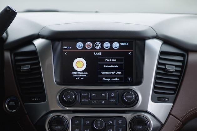 【ビデオ】シボレー、車内のタッチスクリーンで給油の支払いが行える機能を導入