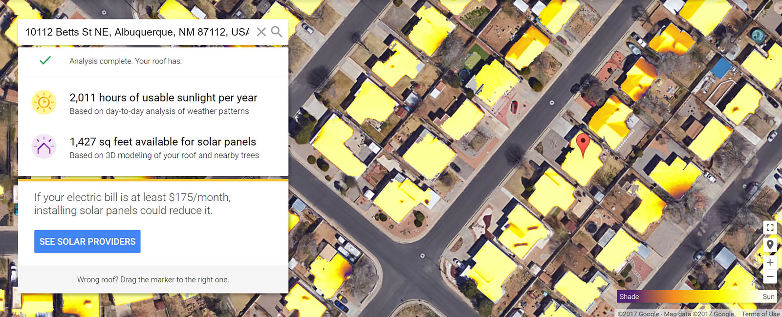 Google: 4 out of 5 US homes have solar power potential