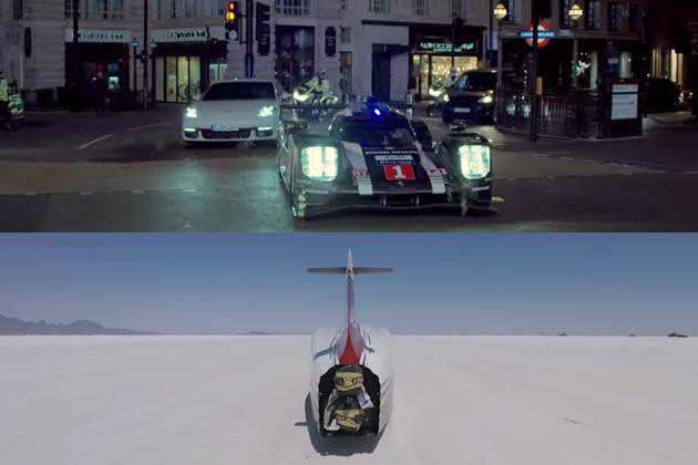 【ビデオ】ポルシェとホンダが、年賀状代わりのビデオ・クリップを公開!