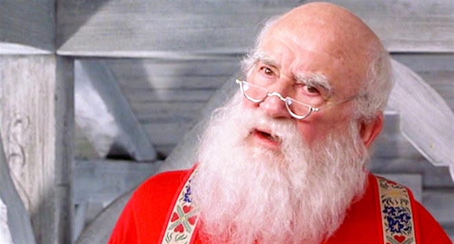 Ed Asner Santa Elf