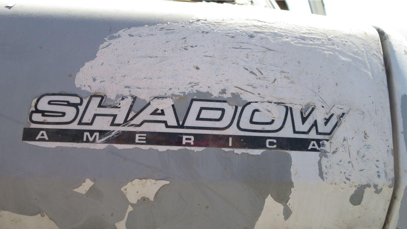 1992 Dodge Shadow America in California wrecking yard