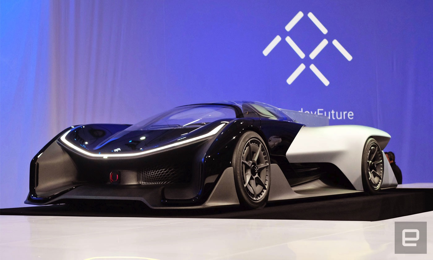 Faraday Future aims to test self-driving cars in Michigan