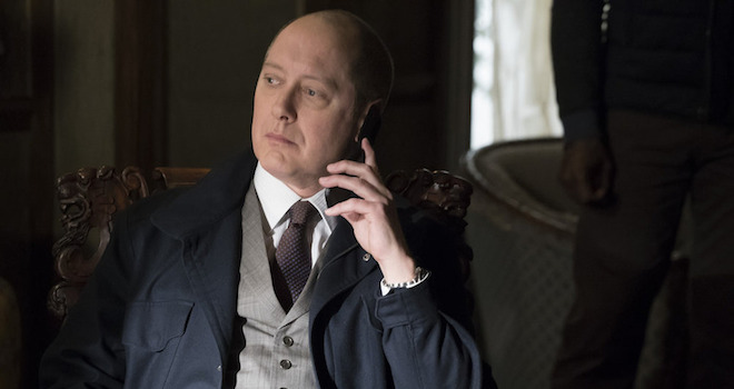 "THE BLACKLIST -- ""Quon Zhang"" Episode 220 -- Pictured: James Spader as Red Reddington -- (Photo by: Virginia Sherwood/NBC)"