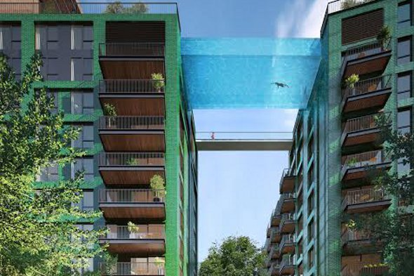 Sky pool to link London apartment blocks