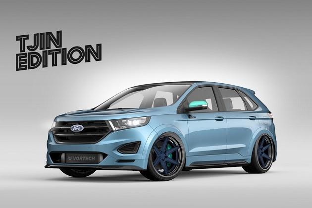 フォード、SEMAショーに向けて「エッジ」のカスタムモデル3種を公開!