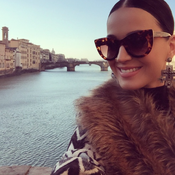 Katy Perry shares pictures from Italy holiday