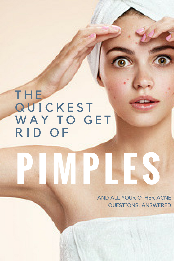 Pimples on the pope 10 best ways to get rid of them 67