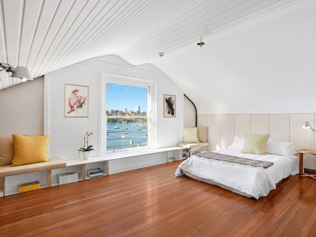 It's hard to believe this roof space/apartment went for $1 million. Then again, nothing is too crazy...