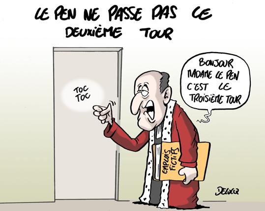 Pour Marine Le Pen, le