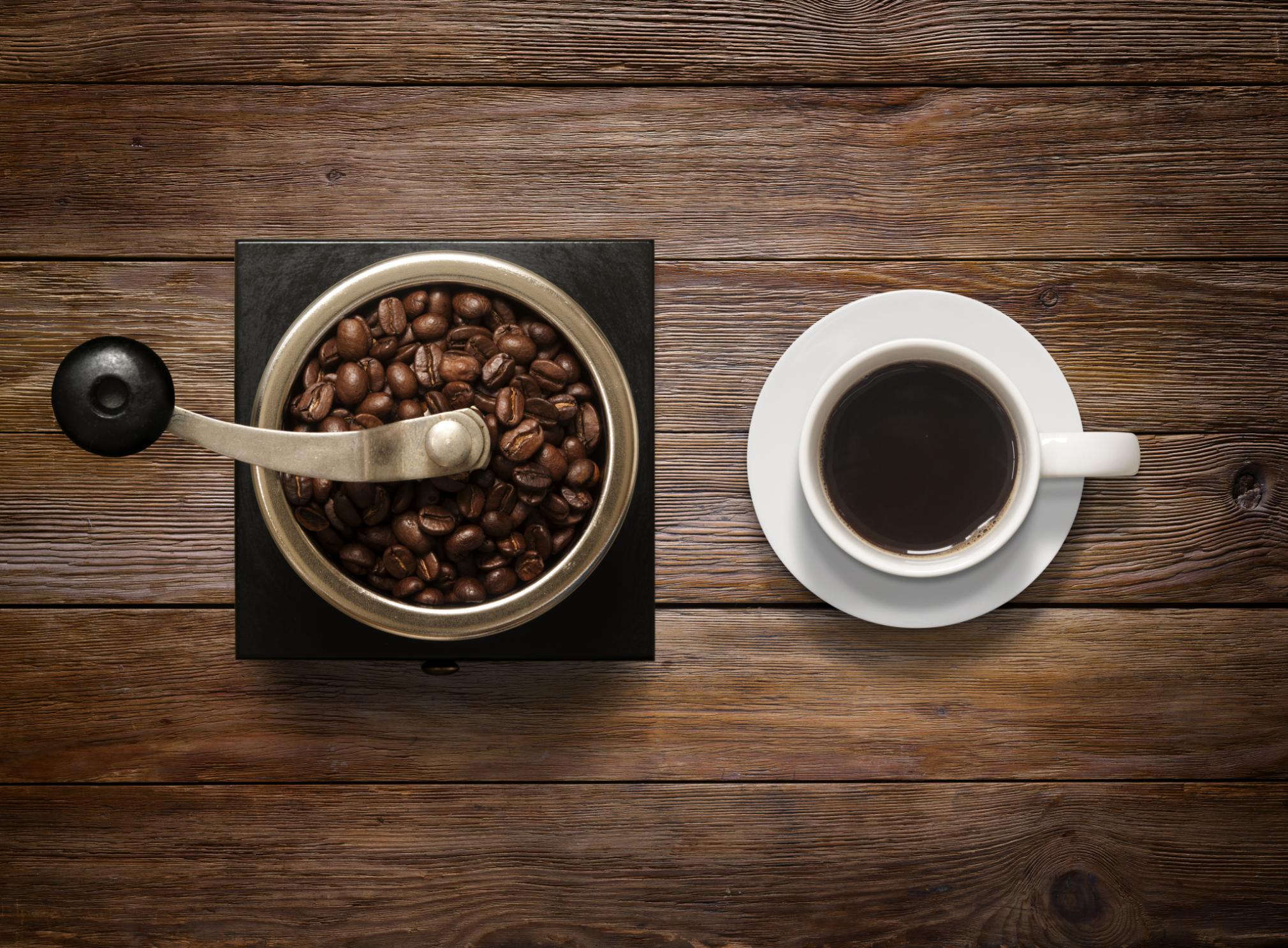 La taza de café perfecta lleva