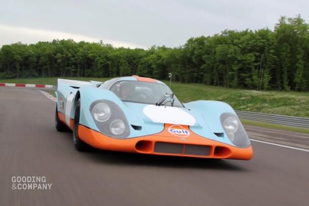 【ビデオ】スティーヴ・マックィーン主演映画『栄光のル・マン』に登場したポルシェ「917K」が、再びオークションに