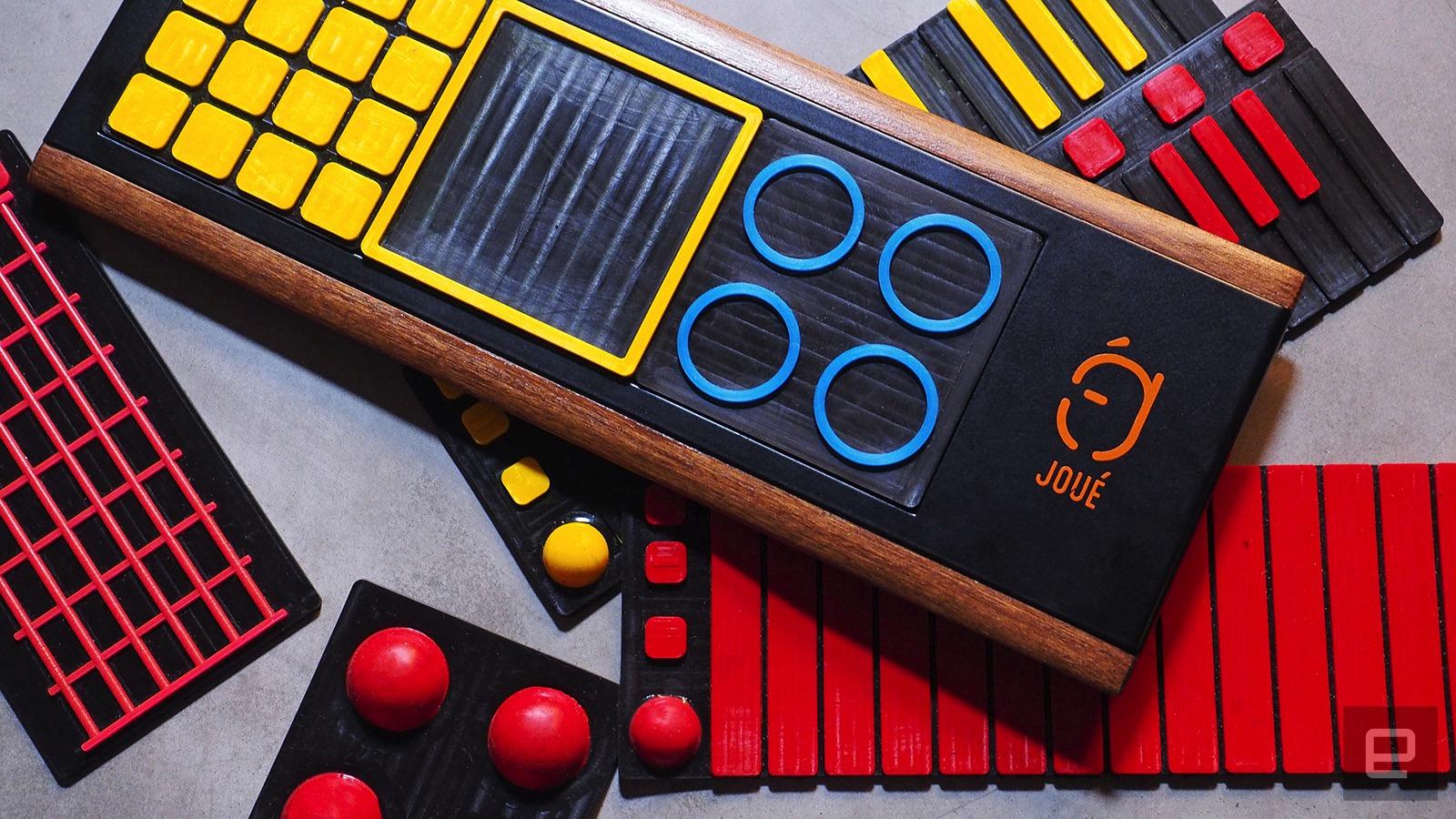 Joue s MIDI controller adds tactile fun to music-making