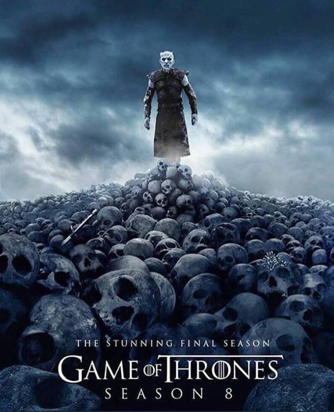 El falso poster de la temporada 8 de 'Game of Thrones'