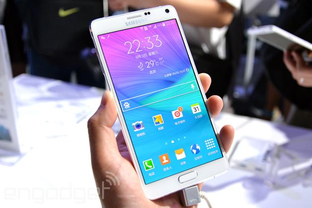 三星 Galaxy Note 4 动手玩:终于像一台真正的高档手机了