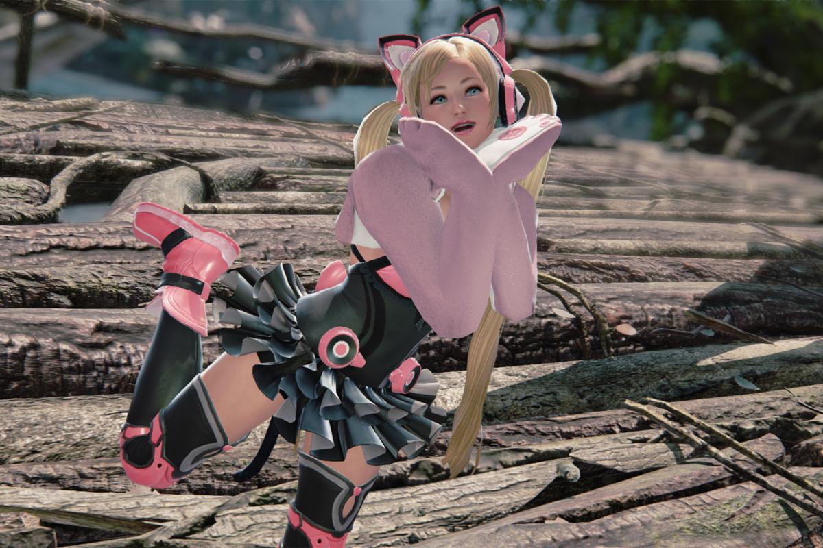 lucky chloe is the cutest tekken character ever aol games lucky chloe is the cutest tekken