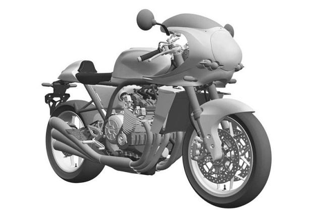 ホンダが1970年代の「CBX1000」を彷彿させるレトロなバイクの意匠登録を出願していたことが明らかに!