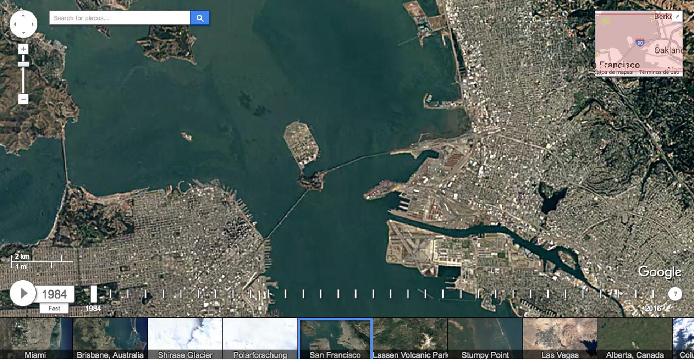 Mquina del tiempo de google earth te ensea el mundo en un periodo la mquina del tiempo de google earth te ensea el mundo en un periodo de 32 aos gumiabroncs Images