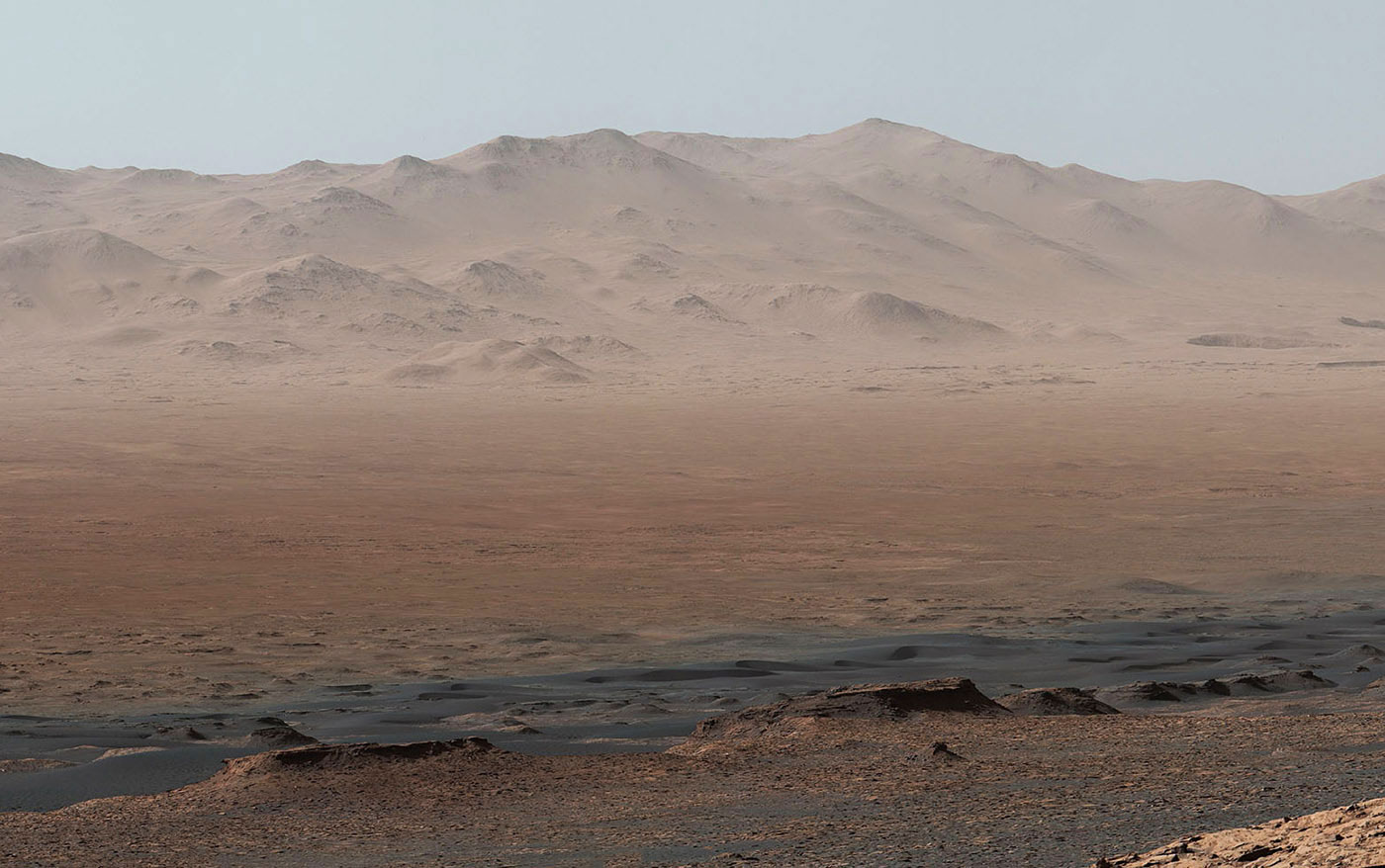Curiosity's sweeping Mars panorama shows how far it's come