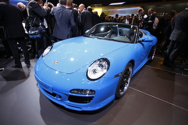 ポルシェ、新型「911スピードスター」を9月のフランクフルト・モーターショーで公開か!?