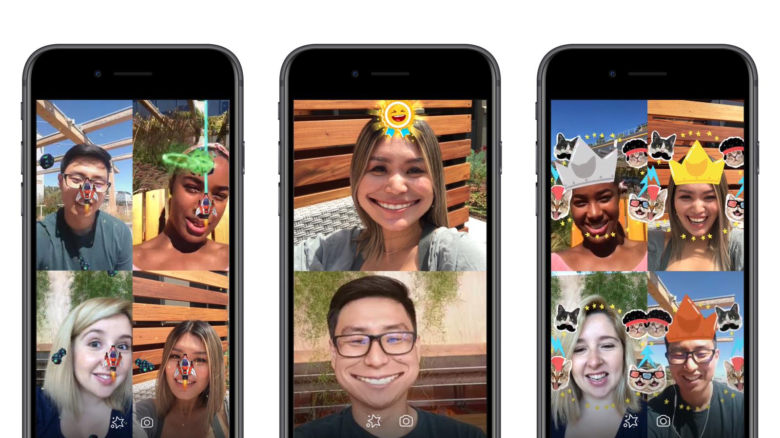 Resultado de imagem para facebook augmented reality games