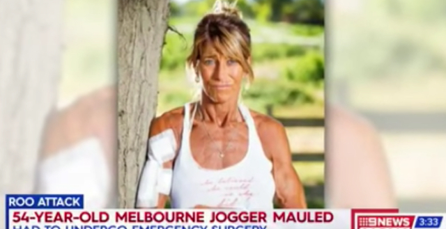Jogger attacked by kangaroo thrown around like 'rag doll'