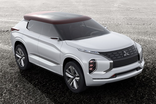 三菱、パリ・モーターショーで発表する次世代型SUVコンセプト「GT-PHEV」の画像を公開