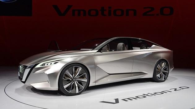 【北米国際オートショー2017】日産、将来のセダンにおけるデザインの方向性を示唆するコンセプトカー「Vmotion 2.0」を発表
