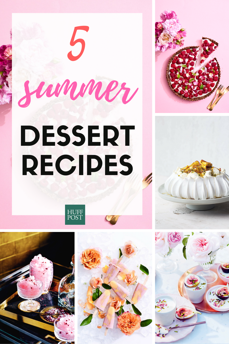 These Beautiful Dessert Recipes Will Get You Excited For