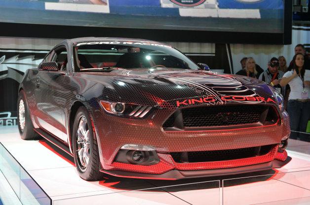 【SEMAショー2014】キングコブラを筆頭に、フォード・マスタングが今年のSEMAを席巻