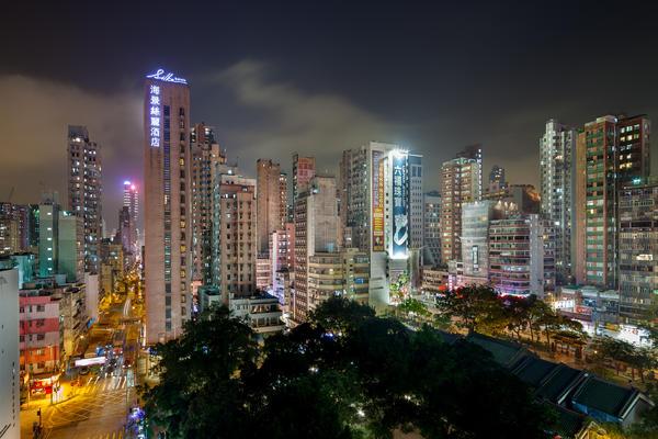 Hong Kong Kowloon peninsula