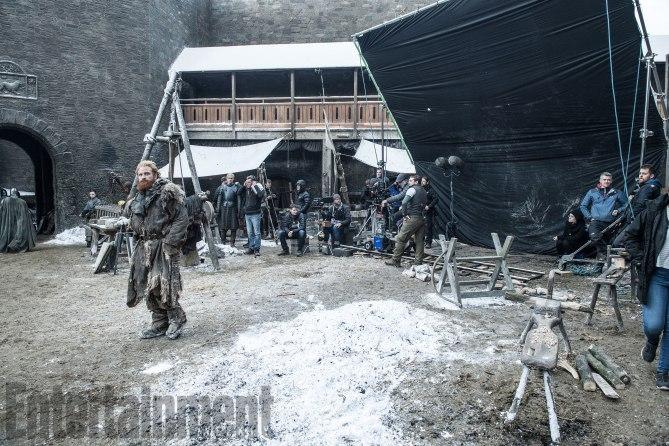 Game of Thrones Behind the Scenes Season 7, Episode TK Kristofer Hivju as Tormund Giantsbane