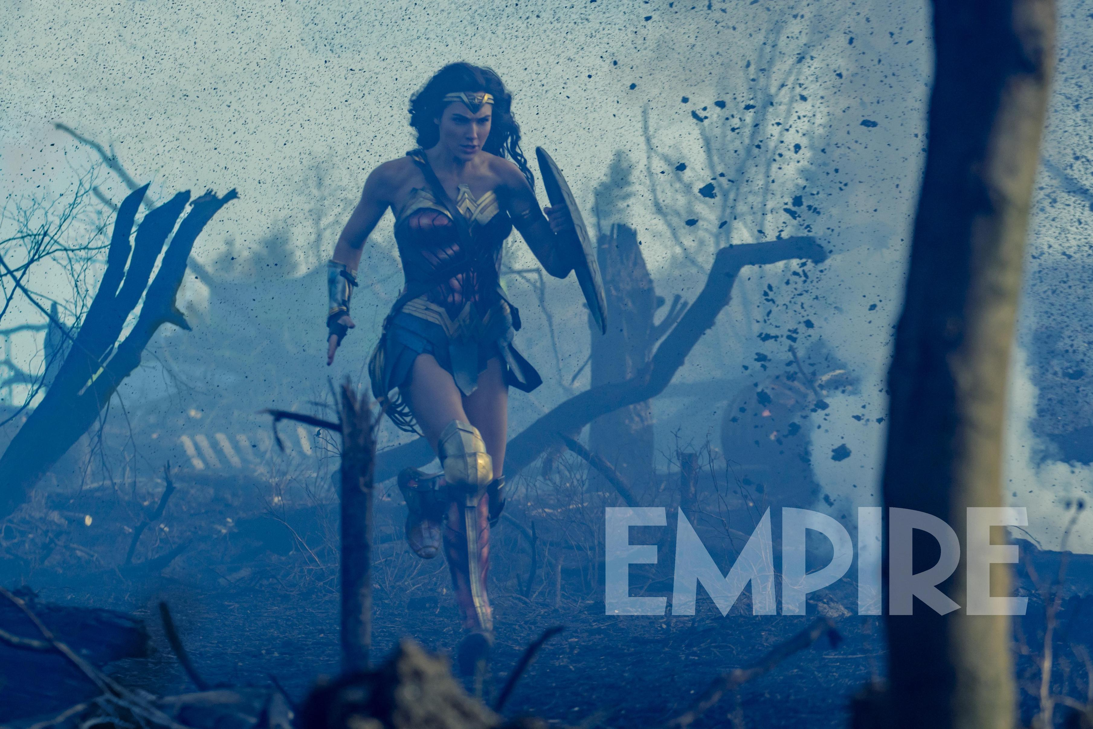 Wonder Woman: Exclusive, Explosive New Look At Gal Gadot
