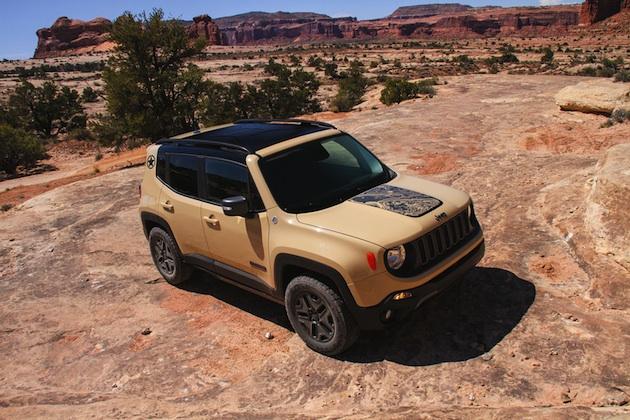 ジープ、LAオートショーで2タイプの「レネゲード」特別仕様車を発表