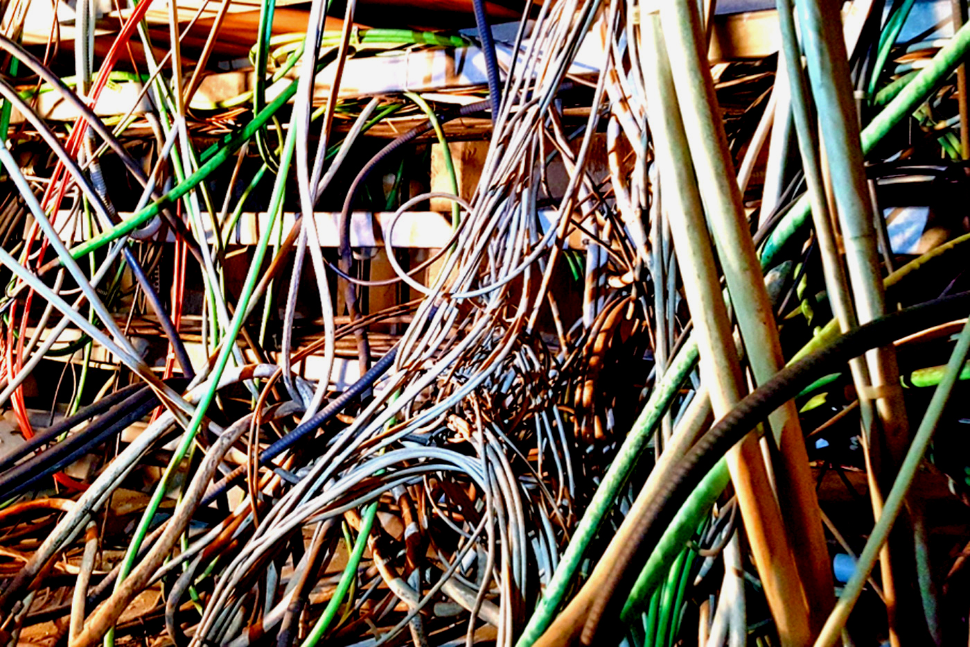 Large Hadron Collider Crew Has To Pull 9000 Old Cables Messy Wiring Pictures